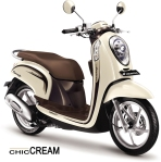 Scoopy FI Chic Cream Jogja